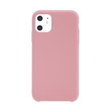 Kryt pro Apple iPhone 11 - gumový - příjemný na dotek - růžový