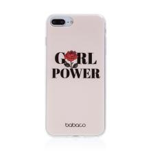 Kryt BABACO pro Apple iPhone 7 Plus / 8 Plus - gumový - GIRL POWER