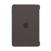 Originální kryt pro Apple iPad mini 4 - výřez pro Smart Cover - silikonový - kakaově hnědý