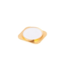 Tlačítko Home Button ve stylu 5S pro Apple iPhone 5 / 5C - zlato-bílé