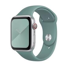 Originální řemínek pro Apple Watch 45mm / 44mm / 42mm - silikonový - kaktusově zelený