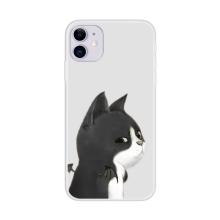 Kryt pro Apple iPhone 12 / 12 Pro - gumový - dračí kočka