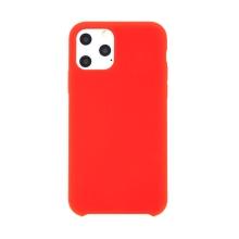 Kryt pro Apple iPhone 11 Pro Max - gumový - příjemný na dotek - červený