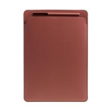 Pouzdro / obal pro Apple iPad Pro 12,9 / 12,9 (2017) - kapsa na Apple Pencil - umělá kůže - hnědé