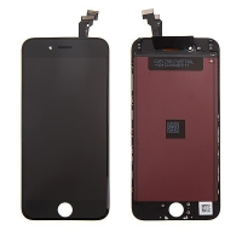 LCD panel + dotykové sklo (touch screen digitizér) pro Apple iPhone 6 - černý - kvalita A