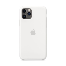 Originální kryt pro Apple iPhone 11 Pro - silikonový - bílý