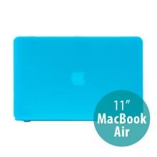 Tenký ochranný plastový obal pro Apple MacBook Air 11.6 - matný - modrý