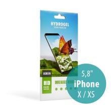 Ochranná Hydrogel fólie pro Apple iPhone X / Xs - čirá