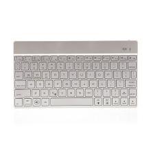 Klávesnice F3S pro Apple iPad / Mac - Bluetooth 3.0 - podsvícená - stříbrná