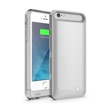 iFans baterie externí s krytem Apple iPhone 6 / 6S 3100mAh MFi certifikovaná - stříbrná