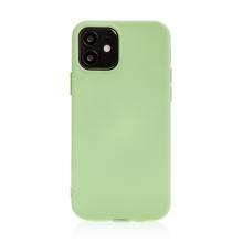 Kryt pro Apple iPhone 12 mini - příjemný na dotek - silikonový - zelený
