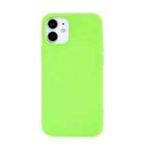 Kryt ROAR pro Apple iPhone 12 mini - gumový - limetkově zelený