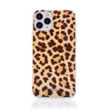 Kryt BABACO pro Apple iPhone 11 Pro Max - gumový - leopardí vzor