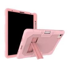 """Kryt / pouzdro pro Apple iPad Pro 11"""" (2018 / 2020) / Air 4 - outdoor - odolný - stojánek - silikonový - růžový"""