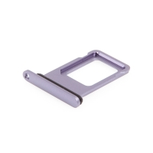 Rámeček / šuplík na Nano SIM pro Apple iPhone 11 - fialový - kvalita A+