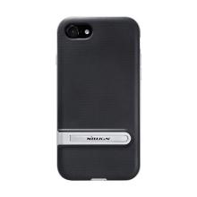Kryt NILLKIN Youth pro Apple iPhone 7 / 8 / SE (2020) - stojánek - plastový / gumový - stříbrný