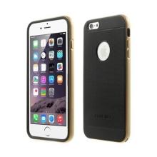 Kryty LOVE MEI AEGIS (sada 2ks) pro Apple iPhone 6 Plus / 6S Plus + zlatý (champagne) oddělitelný rámeček
