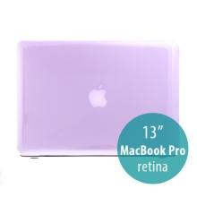Tenký ochranný plastový obal pro Apple MacBook Pro 13 Retina (model A1425, A1502) - lesklý - fialový