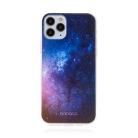 Kryt BABACO pro Apple iPhone 11 Pro Max - gumový - galaxie