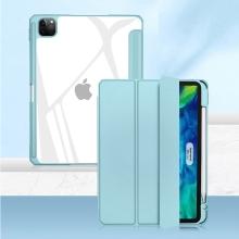 """Pouzdro MUTURAL pro Apple iPad 11"""" (2018 / 2020 / 2021) - stojánek + prostor pro Apple Pencil - světle modré"""
