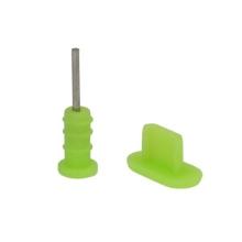 Antiprachové záslepky pro Apple iPhone - zelené