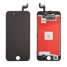 LCD panel + dotykové sklo (touch screen digitizér) pro Apple iPhone 6S - černý - kvalita A