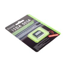 """Přepojka / redukce Micro SD na SD kartu pro Apple MacBook Pro Retina 15"""" (2012 - 2013) - zkrácená - stříbrná"""