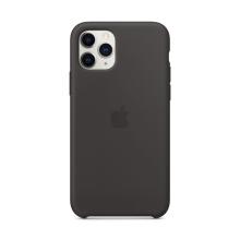 Originální kryt pro Apple iPhone 11 Pro - silikonový - černý