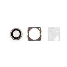 Krycí sklíčko zadní kamery Apple iPhone 6 / 6S - stříbrné (Silver) - kvalita A+