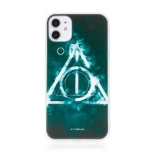 Kryt Harry Potter pro Apple iPhone 11 - gumový - Relikvie smrti - černý