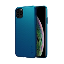 Kryt NILLKIN Super Frosted pro Apple iPhone 11 Pro Max - plastový - modrý
