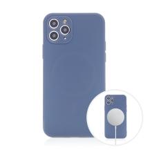 Kryt pro Apple iPhone 11 Pro Max - MagSafe magnety - silikonový - levandulově modrý