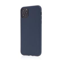 Kryt pro Apple iPhone 11 Pro Max - příjemný na dotek - silikonový - tmavě modrý