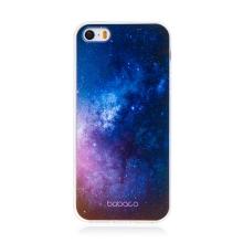 Kryt BABACO pro Apple iPhone 5 / 5S / SE - gumový - galaxie