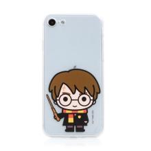 Kryt Harry Potter pro Apple iPhone 7 / 8 / SE (2020) - gumový - Harry Potter - průhledný