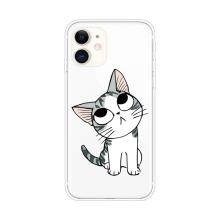 Kryt pro Apple iPhone 11 - gumový - vzhlížející kotě