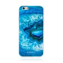 Kryt BABACO pro Apple iPhone 6 / 6S - gumový - akvamarín