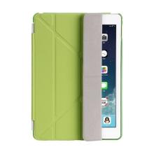 Pouzdro / kryt pro Apple iPad 9,7 (2017-2018) - odnímatelný Smart Cover - stojánek - plastové - zelené