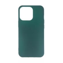 Kryt pro Apple iPhone 13 Pro - gumový - tmavě zelený