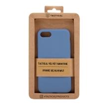Kryt TACTICAL Velvet Smoothie pro Apple iPhone 7 / 8 / SE (2020) - příjemný na dotek - silikonový - tmavě modrý
