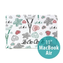 Obal pro Apple MacBook Air 11.6 plastový - Eiffelovka