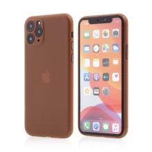 Kryt pro Apple iPhone 11 Pro - s prvkem pro ochranu skla kamery - plastový - oranžový