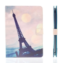 Pouzdro pro Apple iPad Air 2 - stojánek a prostor na doklady - Eiffelovka