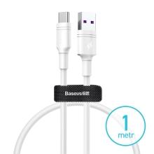 Synchronizační a nabíjecí kabel BASEUS USB-C - USB 3.0 - 1m - bílý