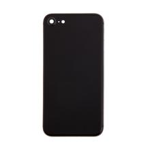 Zadní kryt / sklo pro Apple iPhone 8 - náhradní - bez loga - Space Gray šedý
