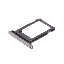 Rámeček / šuplík na Nano SIM pro Apple iPhone Xs - šedý (Space Grey) - kvalita A+