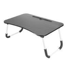 Stolek / podložka pod Apple MacBook + držák pro iPad - LTD lamino - černý