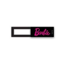 Krytka kamery BARBIE pro Apple iPhone / MacBook - plastová - černá