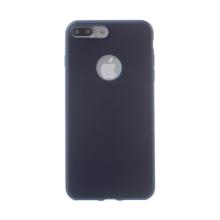 Kryt pro Apple iPhone 7 Plus / 8 Plus - ultratenký - gumový - tmavě modrý