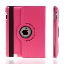 Pouzdro / kryt pro Apple iPad 2. / 3. / 4.gen - 360° otočný držák - růžové